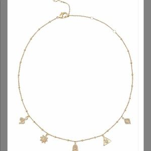 STELLA & DOT CAMERON CHARM NECKLACE